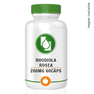 Rhodiola rosea 200mg 60cápsulas