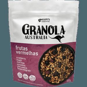 GRANOLA AUSTRALIAN FRUTAS VERMELHAS - 300G