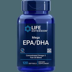 ÔMEGA-3 - MEGA EPA/DHA - 120 SOFTGELS