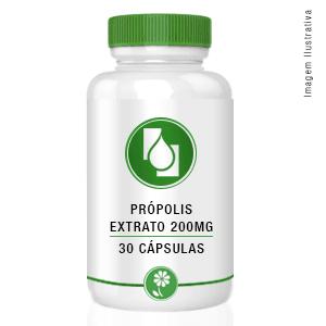 Própolis Extrato Seco 200mg 30cápsulas