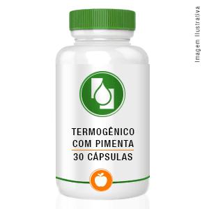 Termogênico com pimenta 30cápsulas