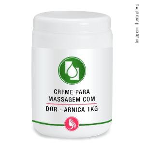 Creme para Massagem Arnica montana 1kg
