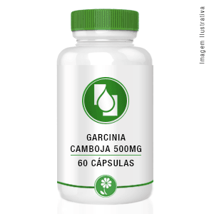 Garcínia camboja 500mg 60 cápsulas