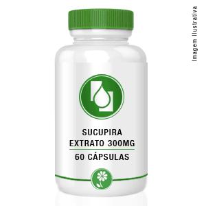 Sucupira Extrato 300mg 60cápsulas