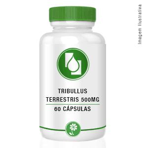 Tribulus Terrestris Extrato Seco 500mg 60 cápsulas