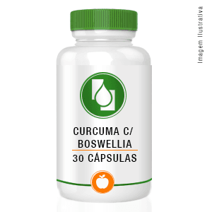 Cúrcuma 300mg + Boswellia 150mg 30cápsulas