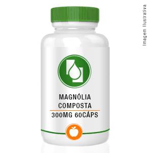 Magnólia composta 300mg 60cápsulas