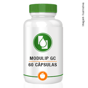 Modulip GC 200mg 60 cápsulas