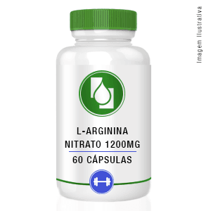L Arginina Nitrato 1200mg 60cápsulas
