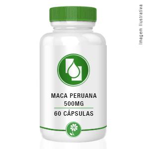 Maca peruana 500mg 60cápsulas