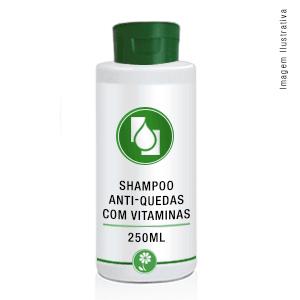 Shampoo Anti-quedas com Vitaminas 250ml