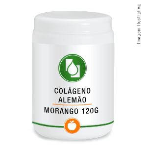 Colágeno Alemão 2,5g/dose Morango 120g