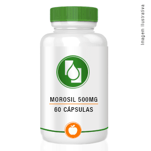 Morosil® 500mg 60cápsulas - com selo de autenticidade