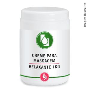 Creme p/massagem Relaxante1kg