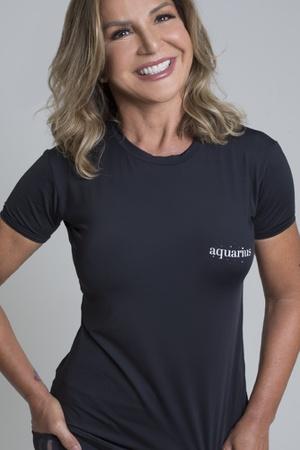 Camiseta Feminina Funfit - Signos Aquário - 3057 - FUNFIT