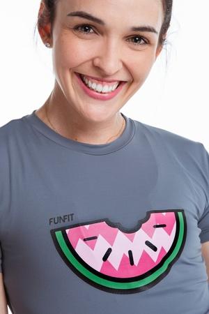 Camiseta Feminina Funfit - Melancia - 1818 - FUNFIT