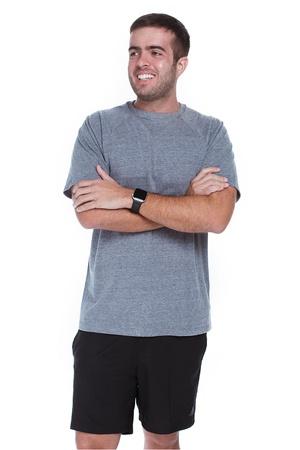 Camiseta Masculina Funfit - Eco Friendly Cinza - 1... - FUNFIT