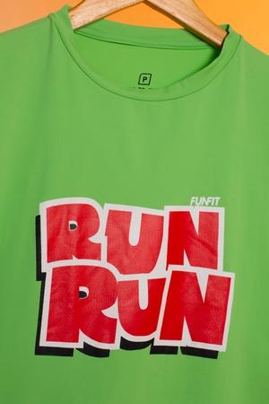 Camiseta Feminina Funfit - Run Run - 1942 - FUNFIT