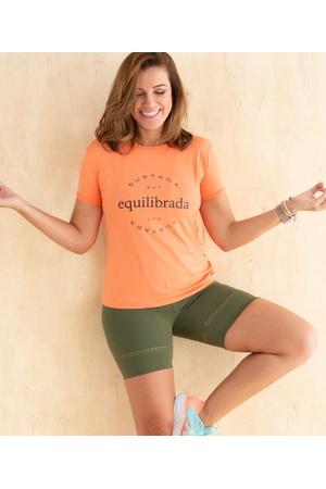 Camiseta Feminina Funfit - Equilibrada - 2079 - FUNFIT