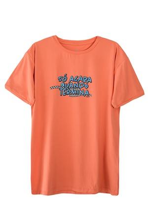 Camiseta Masculina Funfit - Só Acaba Quando Termin... - FUNFIT