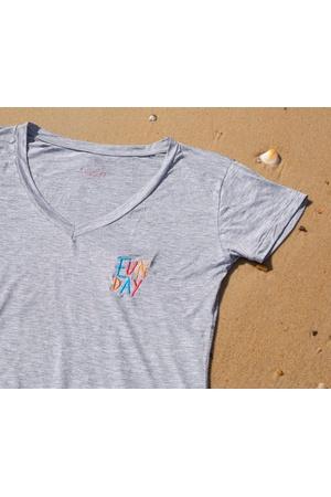 Camiseta Feminina Funfit - FunDay - 3017 - FUNFIT