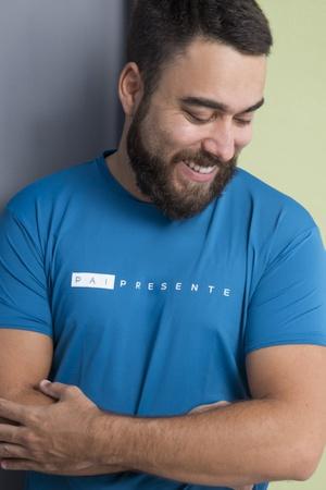 Camiseta Masculina Funfit - Pai Presente - 3083 - FUNFIT