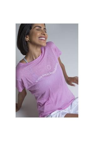 Camiseta Feminina Funfit - Leveza - 3066 - FUNFIT