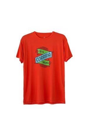 Camiseta Masculina Funfit - Só A Corrida Salva - 3... - FUNFIT