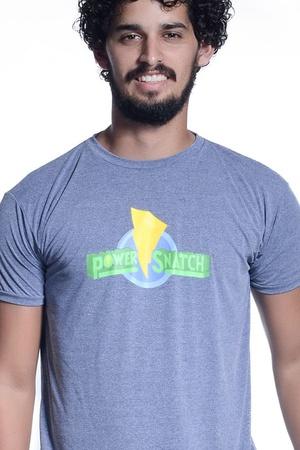 Camiseta Masculina Funfit - Power Snatch - 1582 - FUNFIT