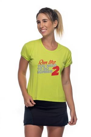 Camiseta Feminina Funfit - Run Like You Need - 165 - FUNFIT