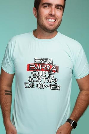 Camiseta Masculina Funfit - Essa Barra Que É Gosta... - FUNFIT