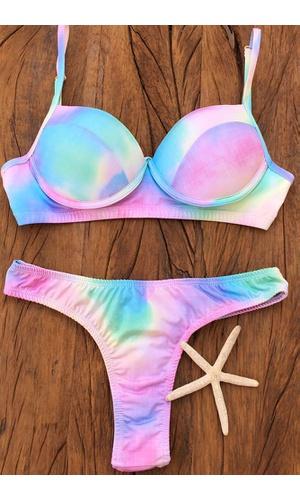 Biquíni Mermaid Tie Dye - Poliana Finzetto