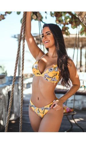 Biquíni Beach Paradise Canto - Poliana Finzetto