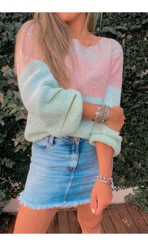 Blusa de Tricot Candy - Poliana Finzetto