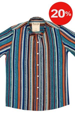 Camisa Listrada Bragança - MAHS
