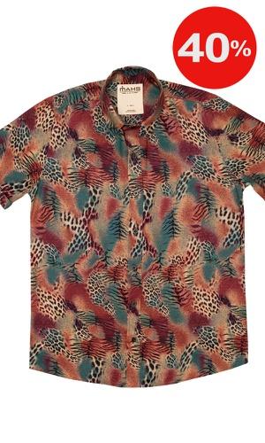 Camisa Estampada Burití - MAHS