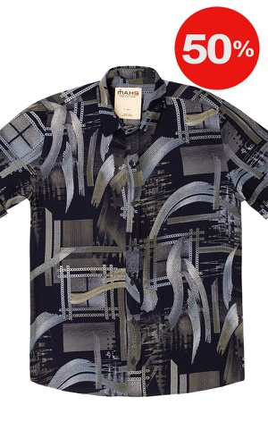 Camisa Estampada Londres - MAHS