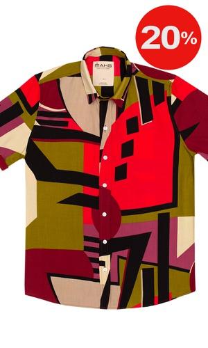 Camisa Geométrica Prado - MAHS