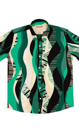 Camisa Geométrica Itamambuca - MAHS