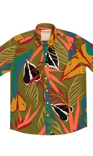 Camisa Floral Juquiá - MAHS