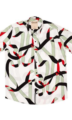 Camisa Geométrica Nevados - MAHS