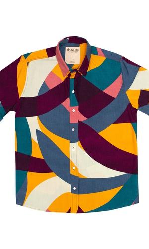 Camisa Geométrica Viena - MAHS