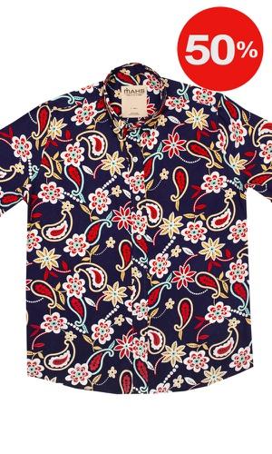 Camisa Floral Salgar - MAHS