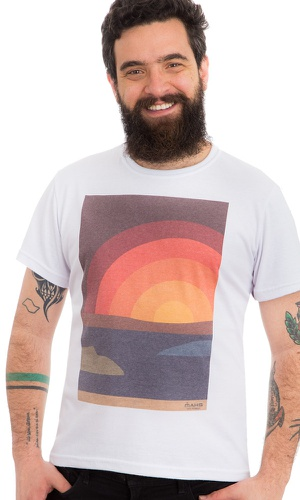 Camiseta Estampada Sun - MAHS