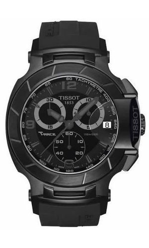 Relogio Tissot Moto Gp T-race Black T04841737057 46 MM Preto