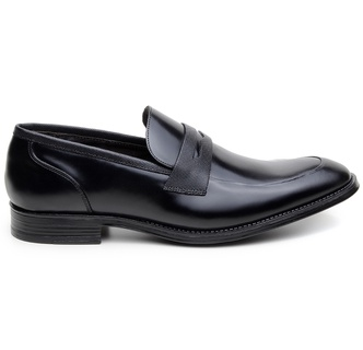 Sapato Social Masculino Loafer CNS NPL 012 Preto - CNS