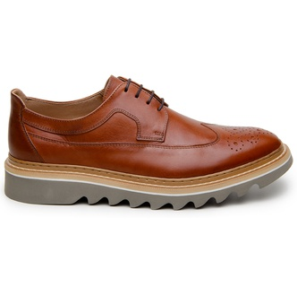 Sapato Casual Masculino Derby CNS 395004 Whisky - CNS