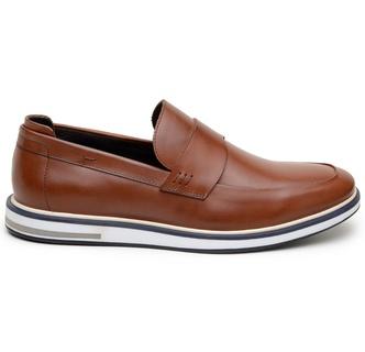 Sapato Casual Masculino Loafer CNS 176057 Conhaque - CNS