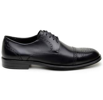 Sapato Social Masculino Derby CNS Brogue 71008 Pre... - CNS