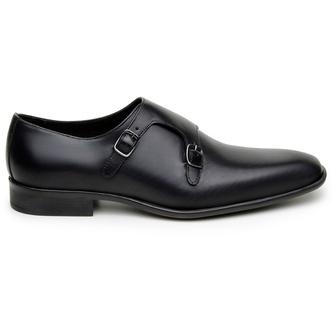 Sapato Social Masculino Monk Strap CNS 12505 Preto - CNS